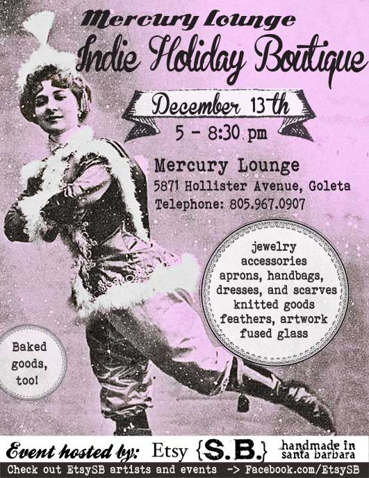 Mercury Lounge Indie Holiday Boutique