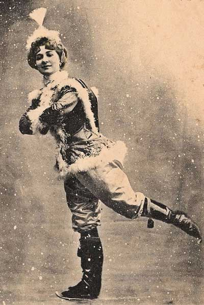 Ice Skating Lady