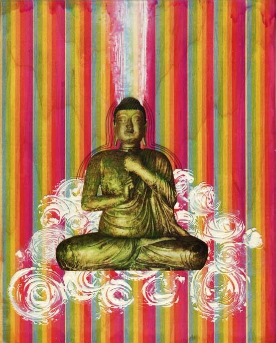 Kodachrome Buddha