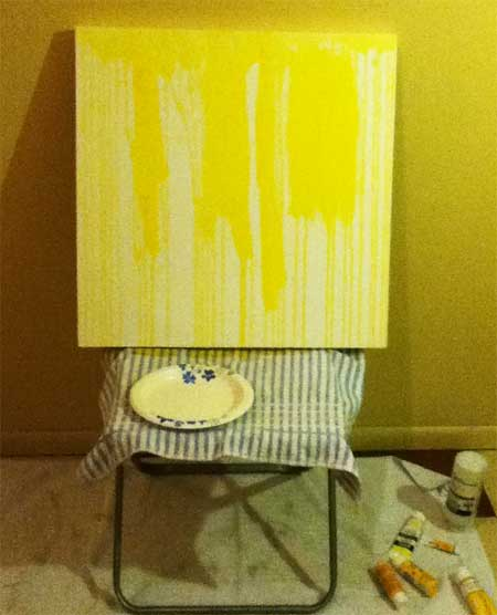 Painting On A Chair